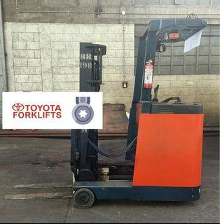 CERTIFIED USED (Silver) Toyota 1,300kgs 1.3tons Reach Truck