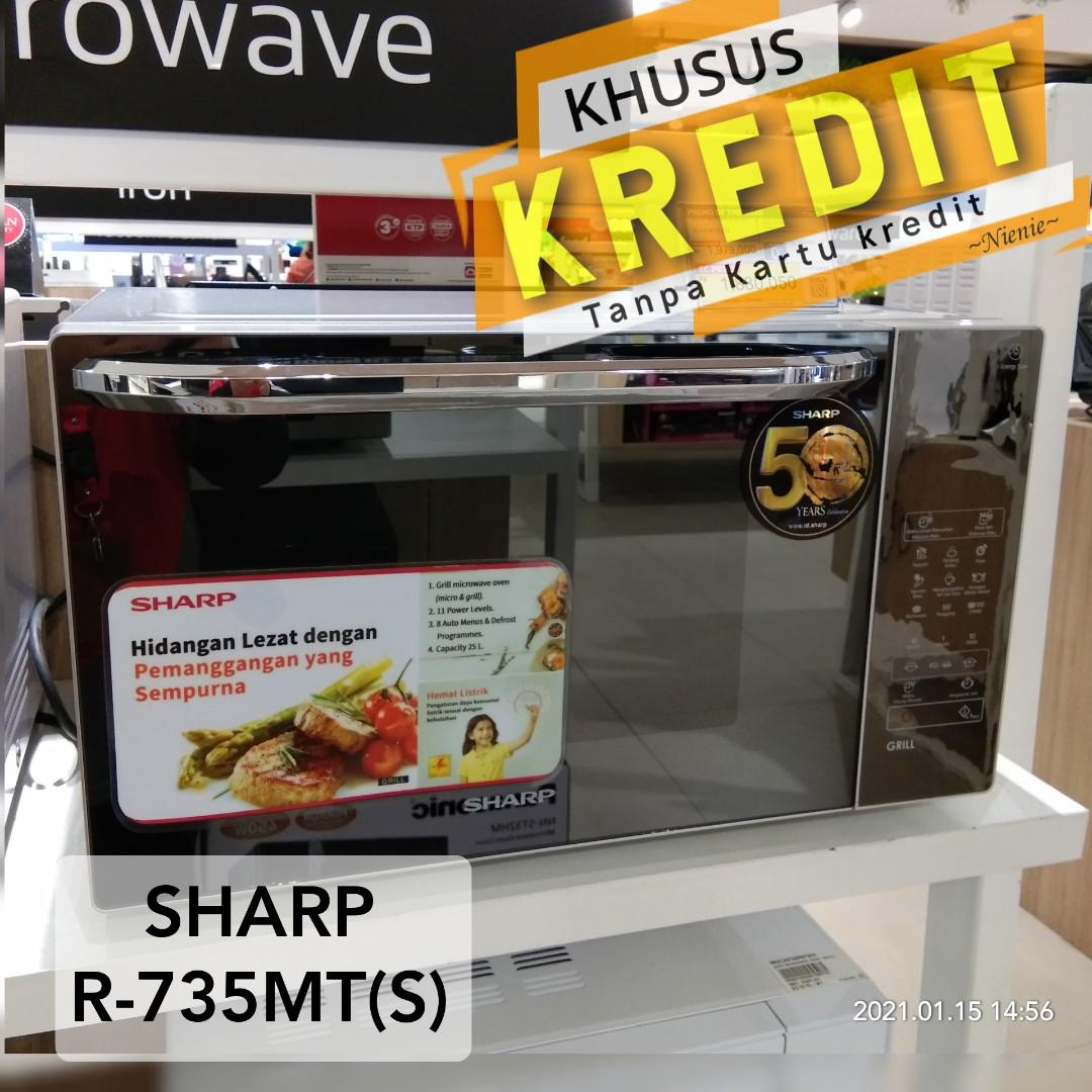 DP 0% Microwave SHARP R-735MT(s)