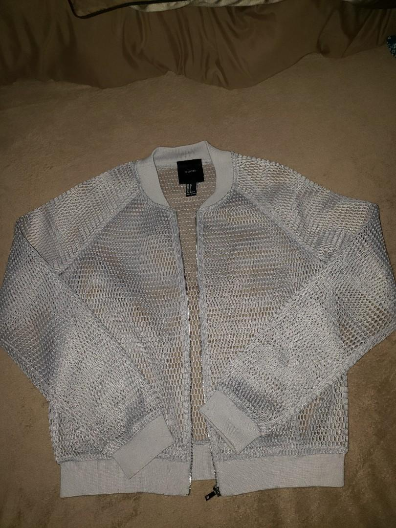 Forever 21 Mesh outerwear