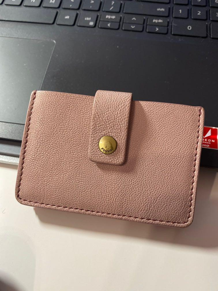 Fossil Card Holder (Accordion Style)
