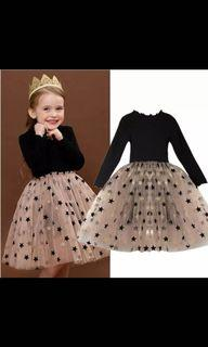 Girls Princess Long Sleeves Dress For Any Events