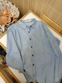 Kemeja jeans cotton ink