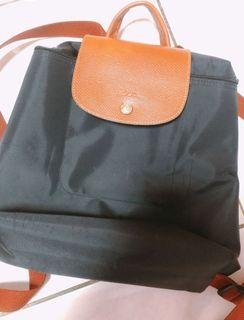 Longchamp摺疊後背包