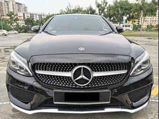 Mercedes benz c300 coupe 2.0amg