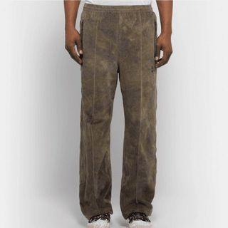 Needles track pants 天鵝絨