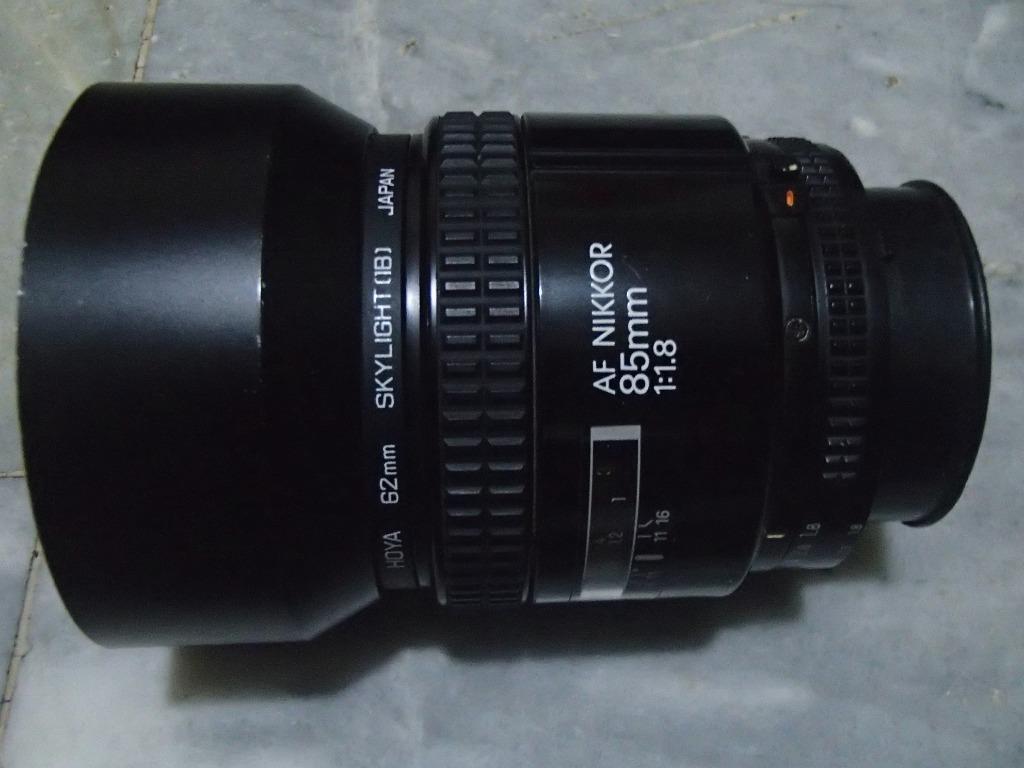 Nikon AF 85mm 1.8D Prime Lens = On Sale 😊