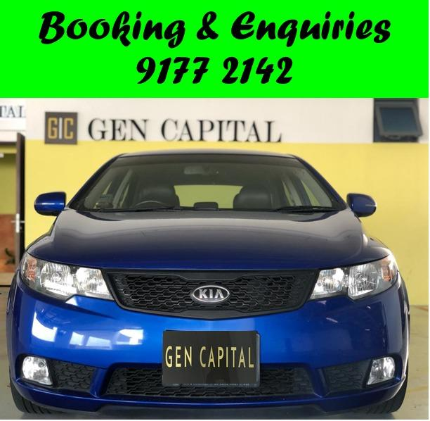 *PHV/PERSONAL* Available 19/01/2021. 3pm. Kia Cerato Forte.PHV/PERSONAL/GRAB/Ryde/GOJEK/PARCEL DELIVERY .$500 deposit only. Whatsapp 9177 2142 to reserve.Cheap Car Rental. Cheap Car. Budget car.