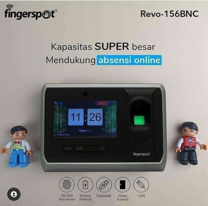 Revo156BNC Kapasitas SUPER BESAR Mendukung Absensi Online