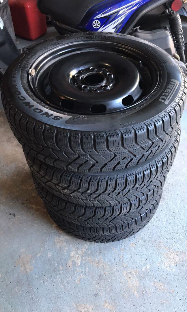 175 65 R15 Pirelli Winter Tires