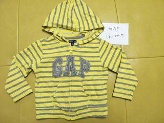 18-24m GAP 條紋長袖外套