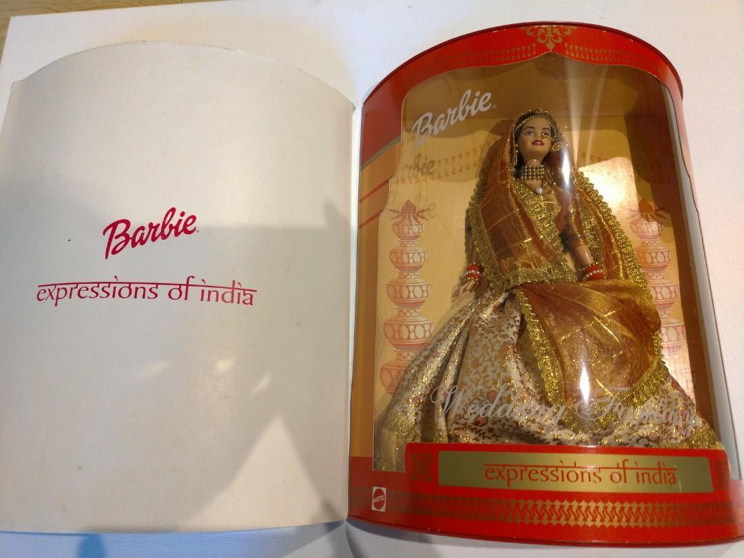 限時三日特價-2003年稀少絕版印度製印度傳統服飾芭比娃娃