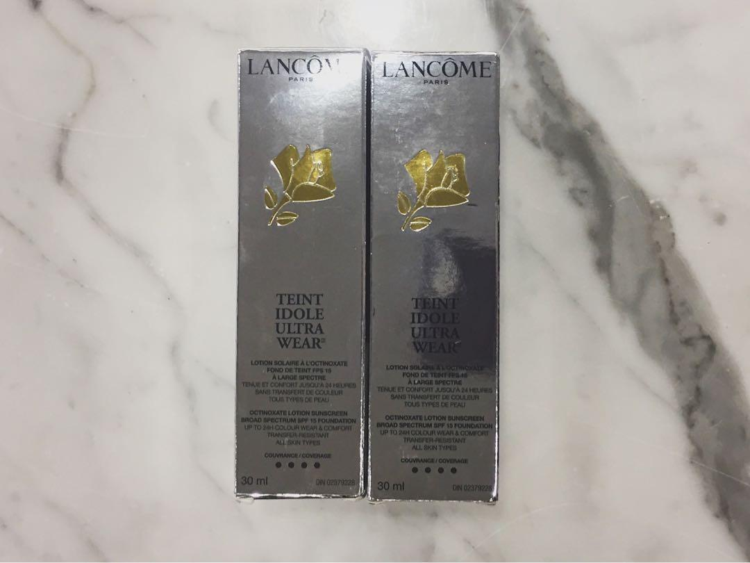 2 FOR $80 BNIB LANCÔME TEINT IDOLE FOUNDATIONS SHADE 425 BISQUE W