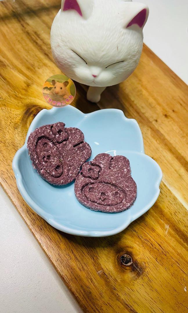 🎀自製🎀紫薯泌尿磨牙餅