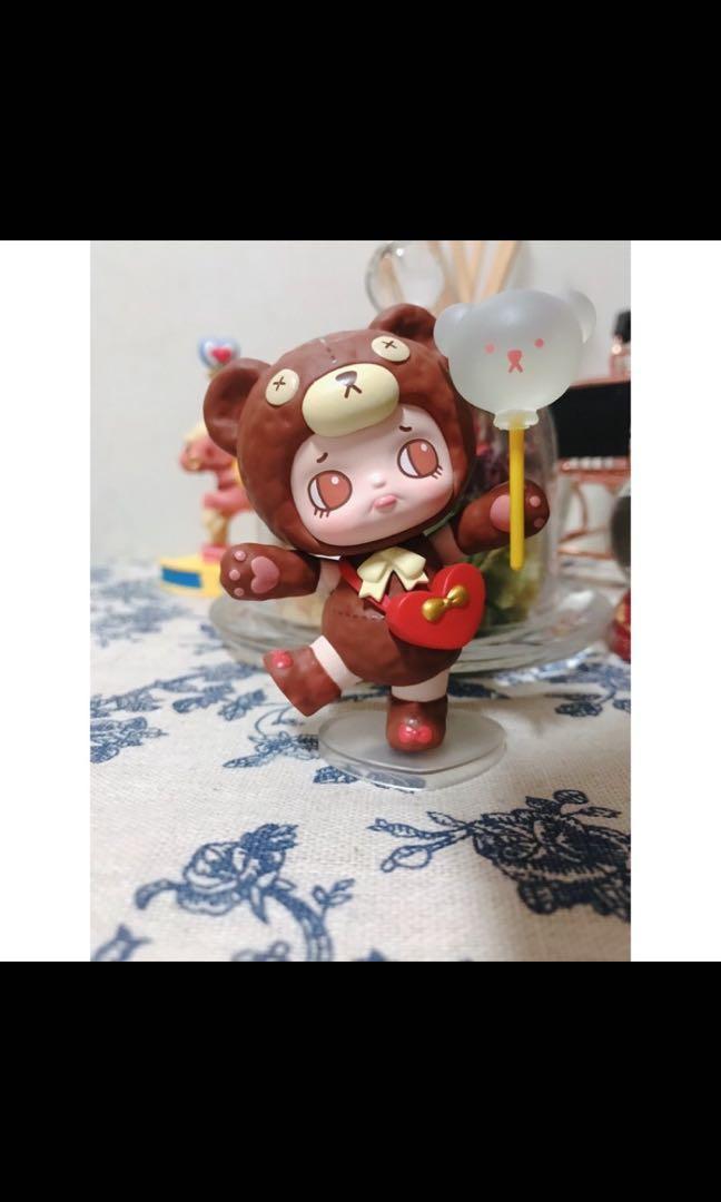 若來 悠拉遊樂園系列 小熊玩偶