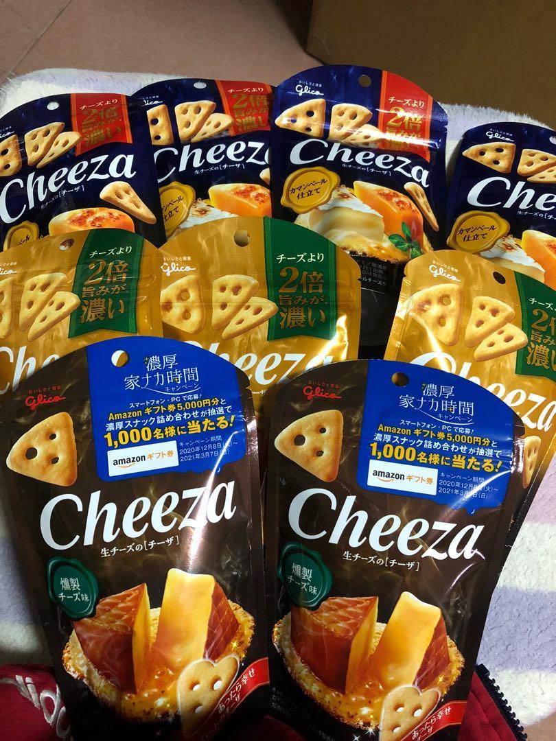 現貨 日本代購 Glico江崎固力果Cheeza推出2倍濃厚起司脆餅 切達起司 煙燻起司