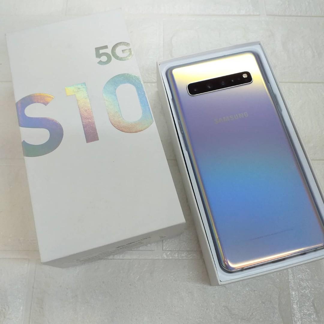 (貳)三星二手福利 Galaxy S10 5G 256G 韓版原裝 盒配齊全 6.7吋大螢幕 98%新 西門町面交自取