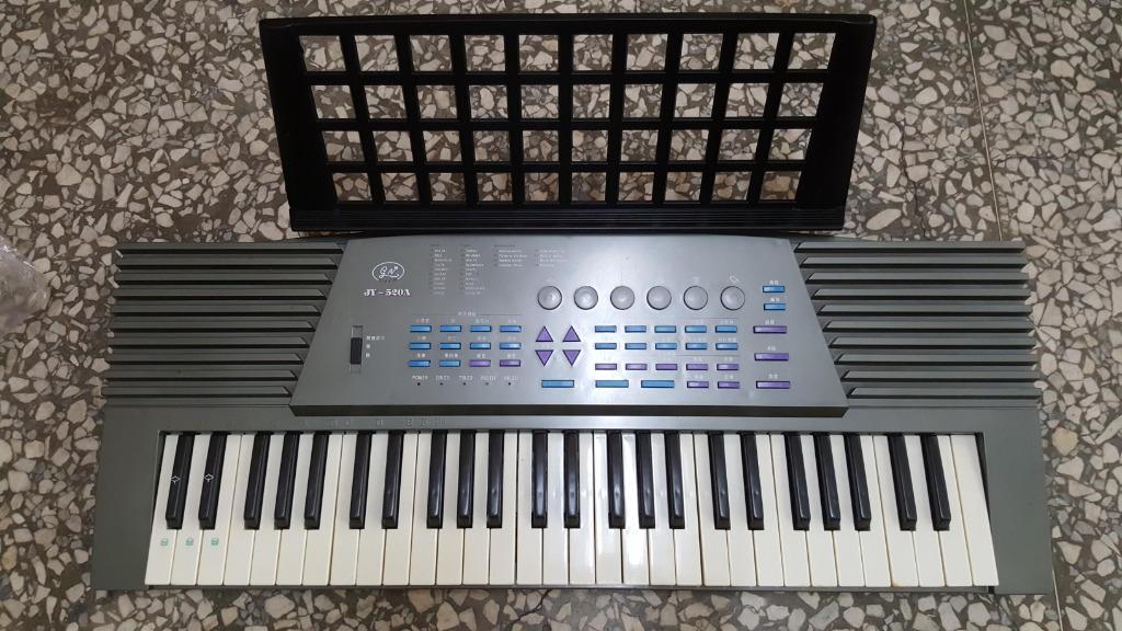 故障全新 JY-520A 電子琴 聲音很小