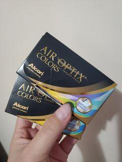 Air Optix Colors Contacts in the colour Brown