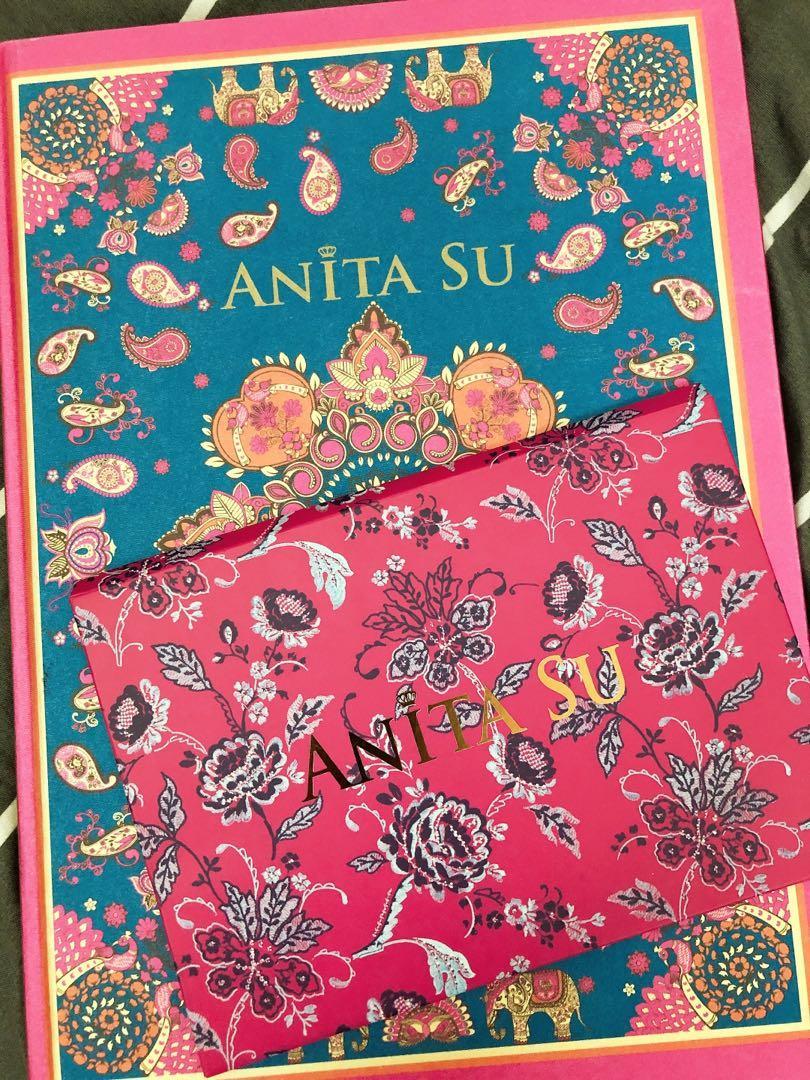 全新ANITA SU相本明信片2件組