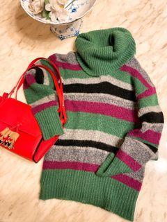 Benetton 條紋 毛衣
