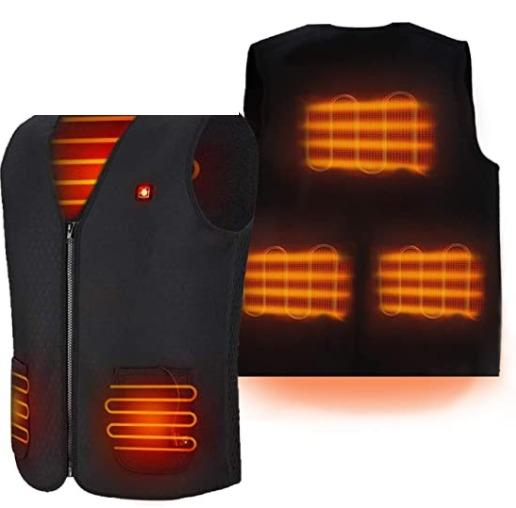 BNIB Unisex Heated Vest, Washable and Durable - Size Small