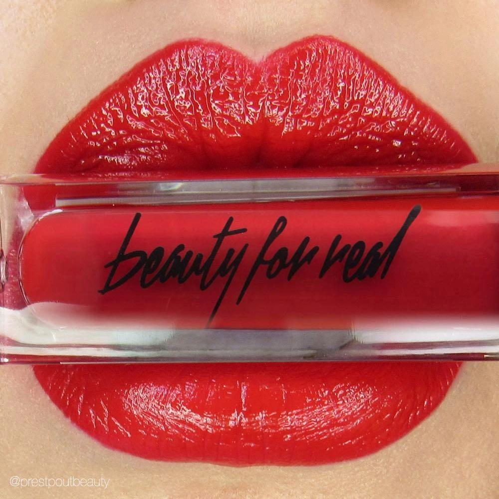 """BNIP BEAUTY FOR REAL LIP CREAM + COLOUR IN SHADE """"REALLY RED"""""""