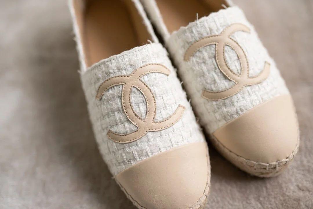 Chanel 鉛筆鞋漁夫鞋平底鞋