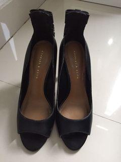 Charles & keith heels size 36