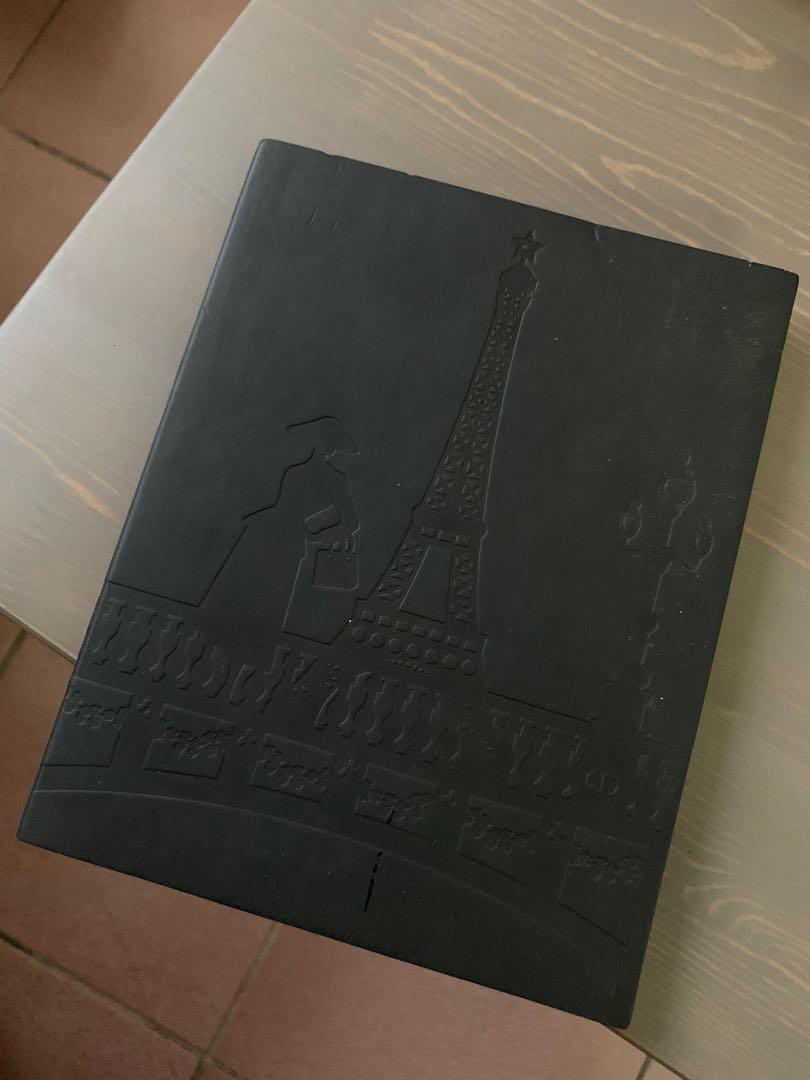 Dior迪奧巴黎風壓紋手帳本