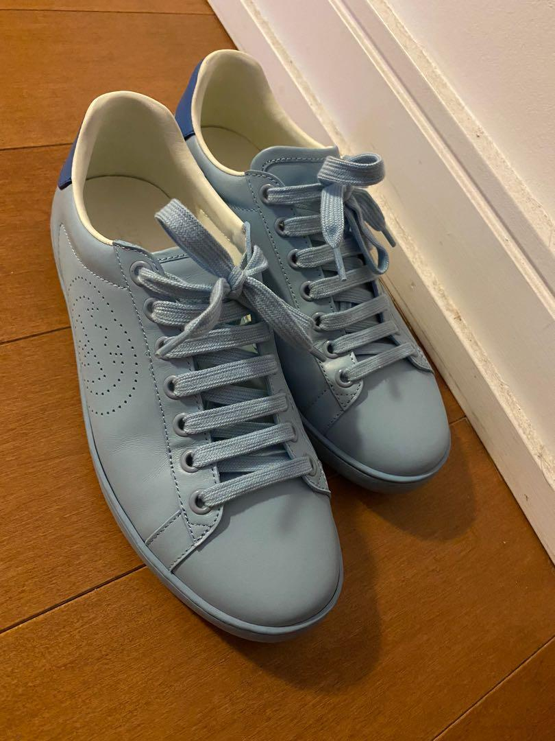 Gucci Ace Sneakers Blue size 39 / US 8