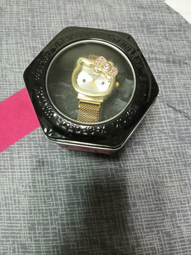 物品匯款:Hello Kitty 手錶,喜歡可談價!