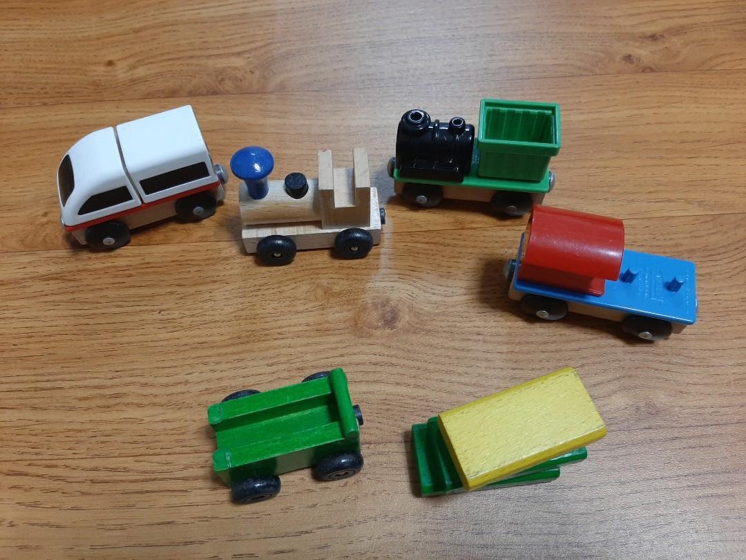 ikea木製玩具火車
