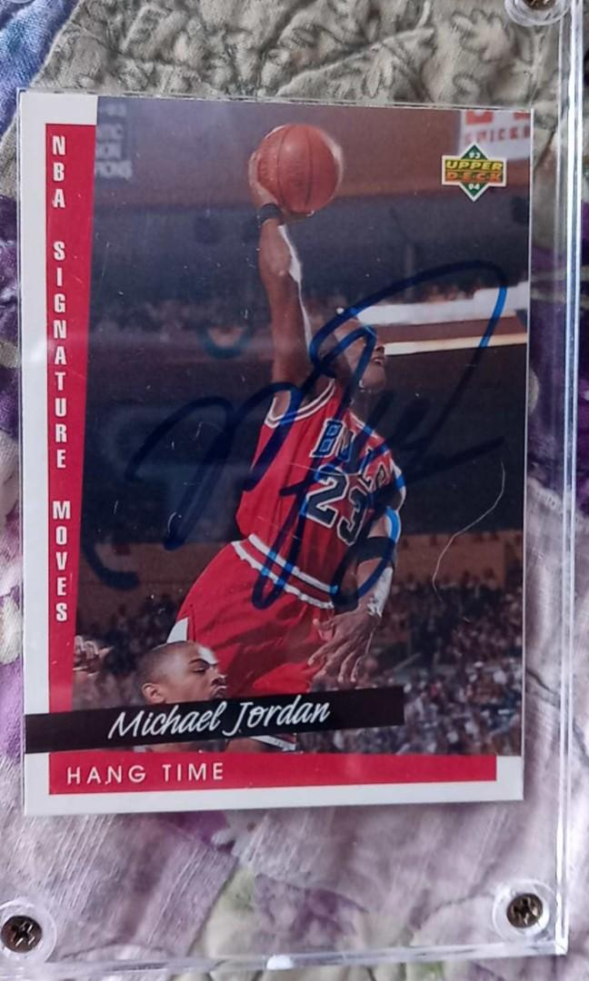 Michael Jordan autograph