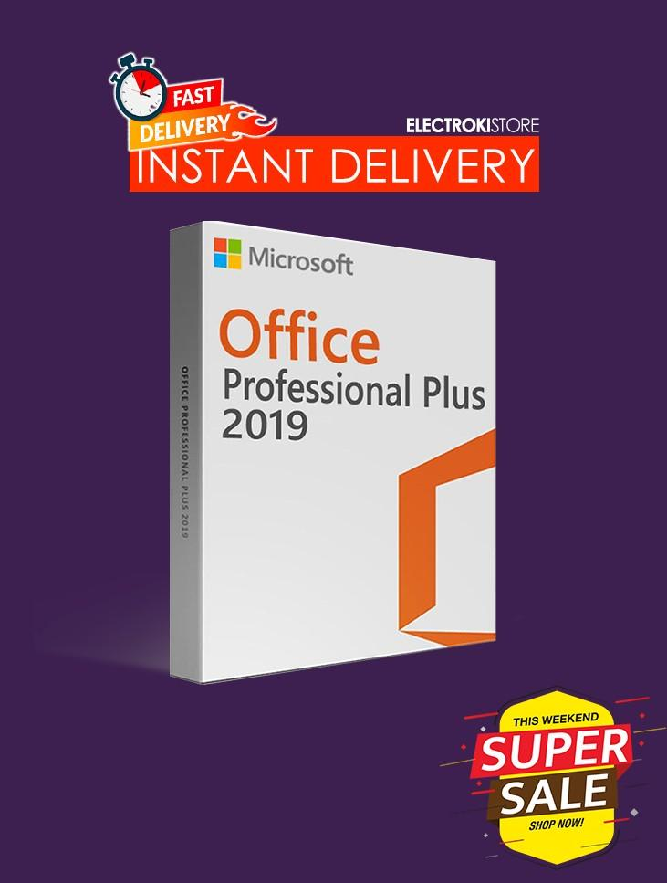 Microsoft Office 2019 Professional Plus 2019 🔥 Genuine License Activation 💯