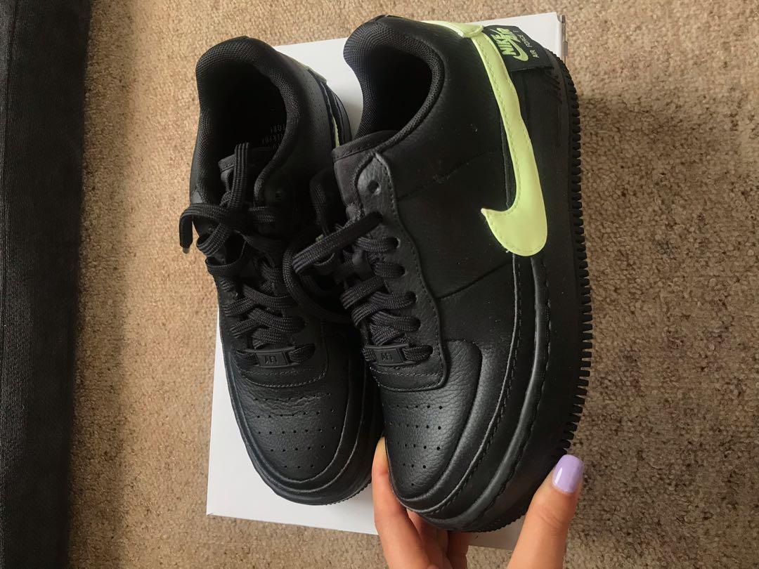 Nike Air Force 1 black/green