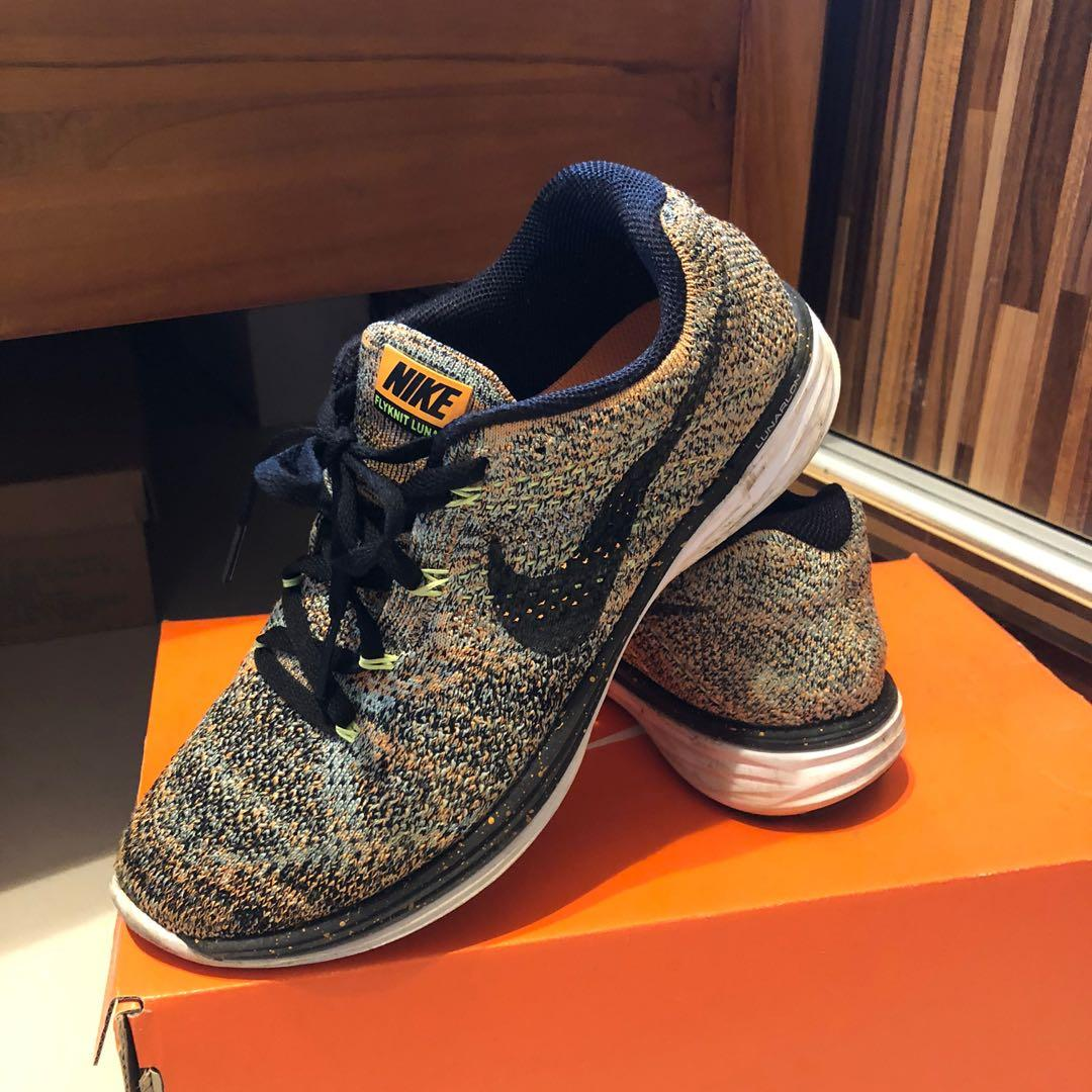 Nike flyknit lunar3女款跑鞋