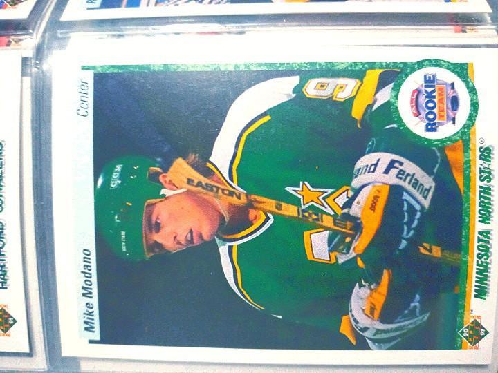 Rare hockey card collection