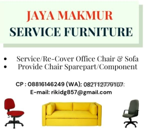Service & recover kursi kantor/sofa