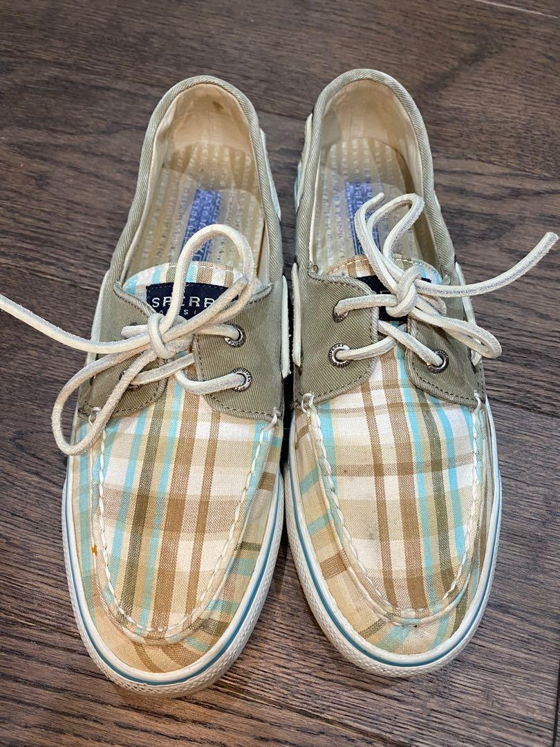 Sperry top sider women's canvas shoes size 8