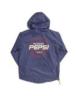 Vintage Pepsi Half Zip Jacket