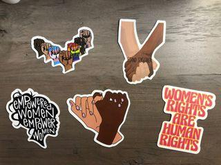 Women's Rights Sticker Bundle