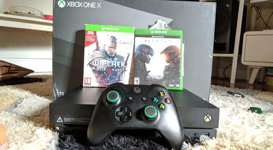 Xbox One X Fullset