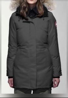 XS Canada Goose Graphite Winter Jacket