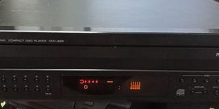 Yamaha CDC-685  Carousel Compact Disc Player
