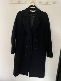 Zara 羊毛大衣