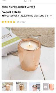 美國進口La Joli'e Muse 時尚香氛蠟燭