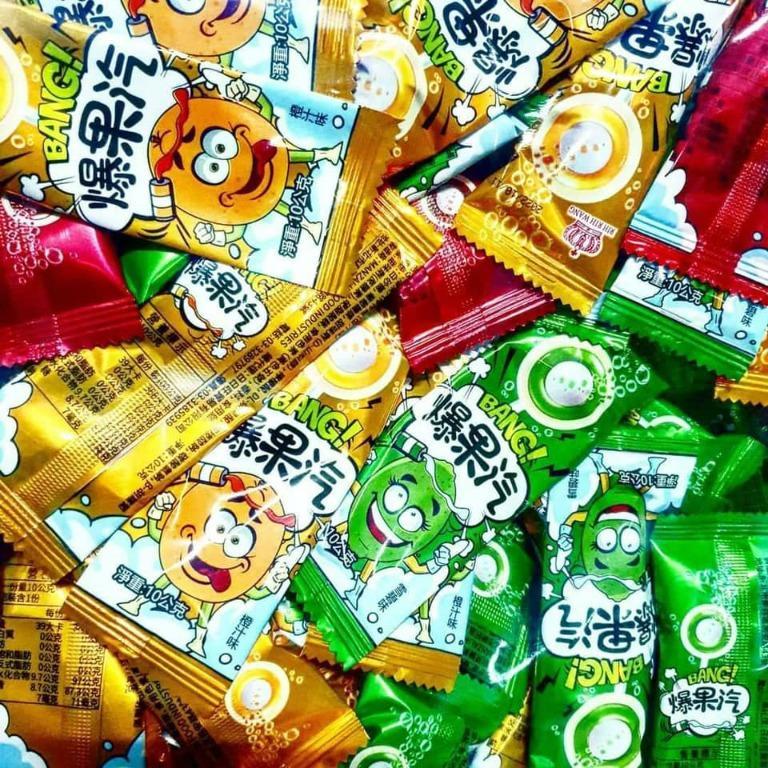 爆果汽 棒棒糖 15支/包