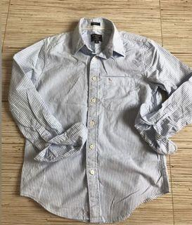🛍 Abercrombie & Fitch Pinstriped Long Sleeves
