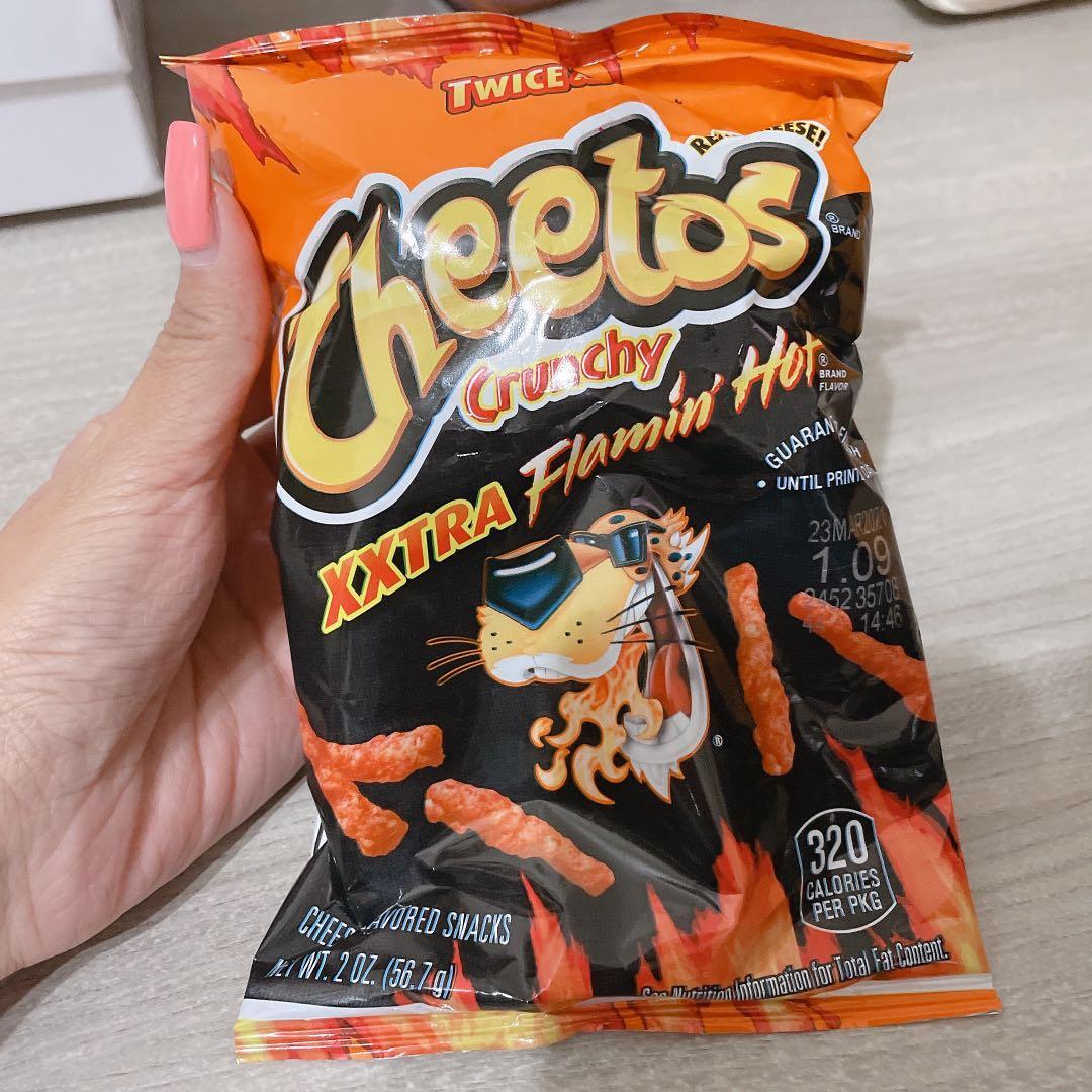 美國代購 Flaming Hot Cheetos 辣奇多 (1/10購買)