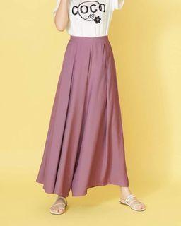 帕菲粉色寬褲 L號